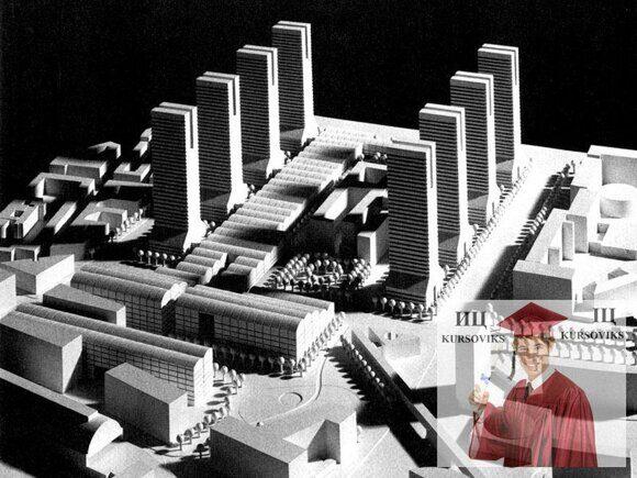 проектирование градостроительных элементов и ансамблей