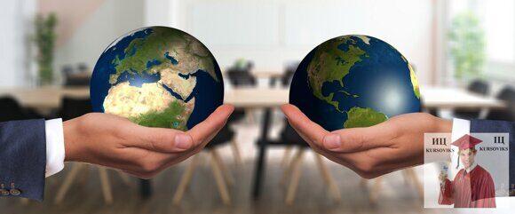 условия глобализационных процессов, методики глобального менеджмента