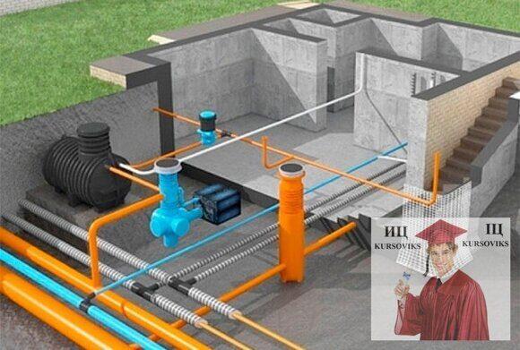 элементы систем водоснабжения и водоотведения