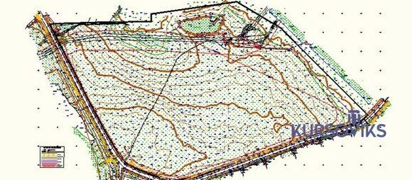 топографическое черчение, изучение условных знаков
